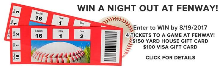 fenway ticket giveaway contest